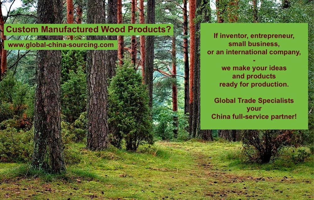 China Holzprodukte Hersteller