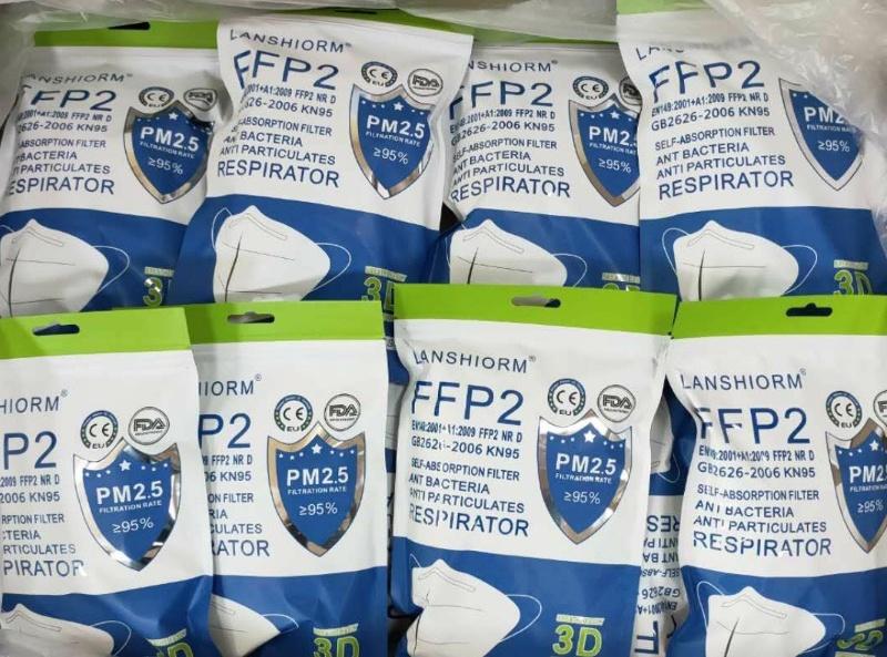 FFP2-mask 3d